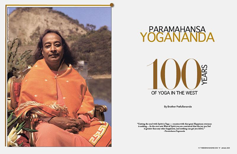 Paramahansa Yogananda 100 Years Of Yoga In The West The Eden Magazine